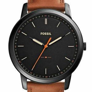 FOSSIL FS5305 The Minimalist Slim Black